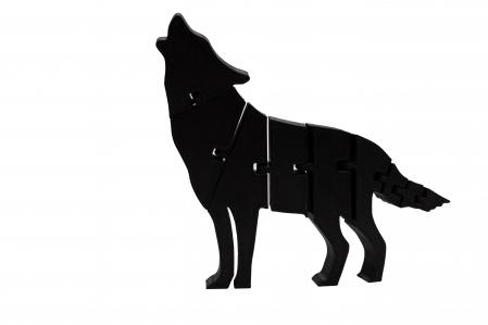 Flexi Wolf - Negru [0]