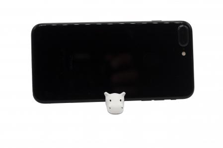 Hippo keychain & phone stand - Alb [1]