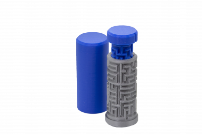 Labirint Medium - Nivel2 - Personalizat - Albastru [1]