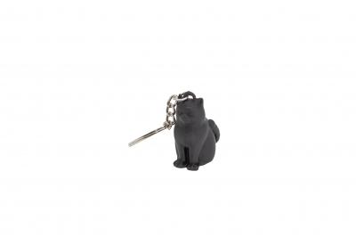 Black cat keychain [0]