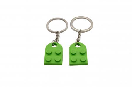 Lego couple keychain - verde [1]