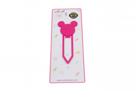 Mickey Mouse bookmark - pink [0]