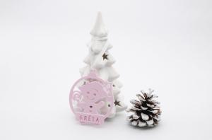 Ornament de brad personalizat cu nume - Baby girl [0]