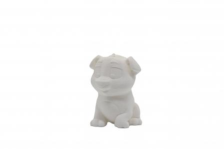Set de pictat figurina de Câine, culori acrilice 6x3ml [0]