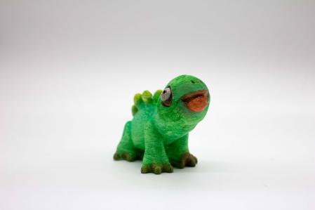 Set de pictat figurina de Dinozaur Stegosaurus, culori acrilice 6x3ml [2]