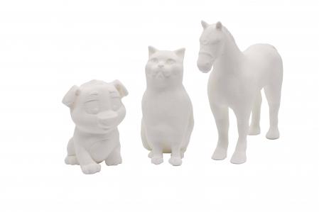 Set de pictat figurine Animale Domestice (3 buc), culori acrilice 6x3ml [1]