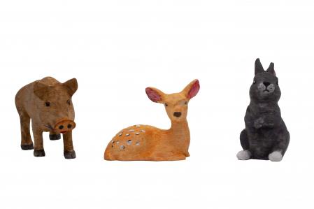 Set de pictat figurine de Pădure (3 buc), culori acrilice 6x3ml [2]