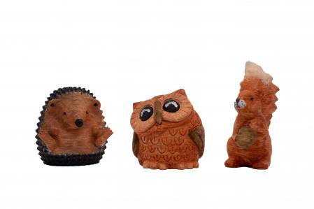 Set de pictat figurine de Pădure Tiny Transilvania (3 buc), culori acrilice 6x3ml [2]