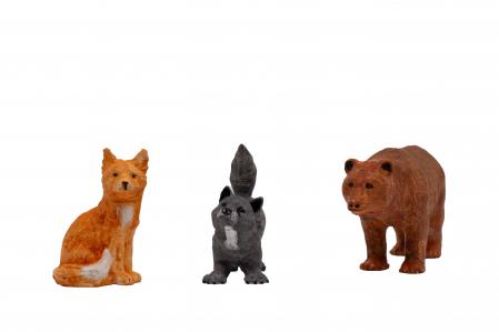 Set de pictat figurine de Pădure Transilvania (3 buc), culori acrilice 6x3ml [2]