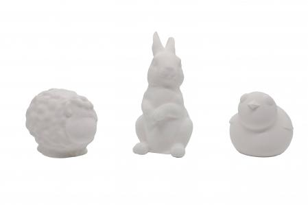 Set de pictat figurine de Pasti (3 buc), culori acrilice 6x3ml [1]