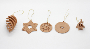 Set decoratiune din Lemn de Brad WiEB 3D [3]