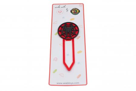 Spiderman bookmark - negru [0]