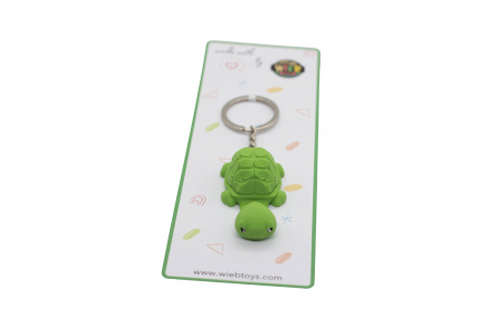 Turtle keychain & phone stand - Verde [2]