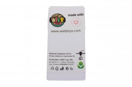 Turtle keychain & phone stand - Verde [3]