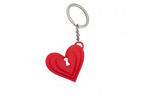Unlock my heart Couple keychain [1]