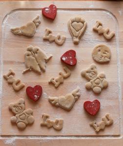 Valentine's day cookie cutter - Bear [1]