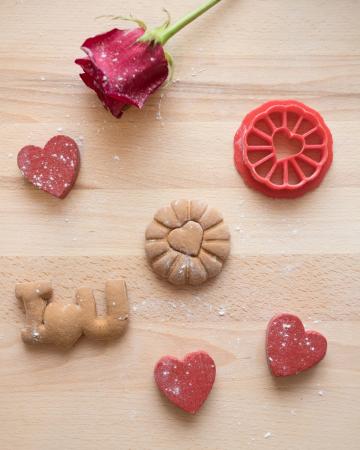 Valentine's day cookie cutter - Cookie Love [2]
