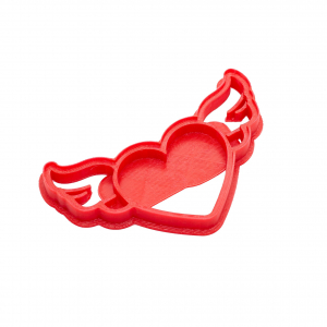 Valentine's day cookie cutter - Fly Heart [0]