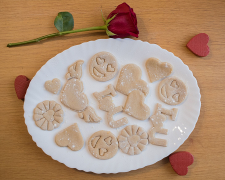 Valentine's day cookie cutter - Fly Heart [3]