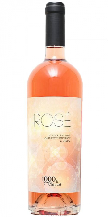 1000 De Chipuri Rose 0