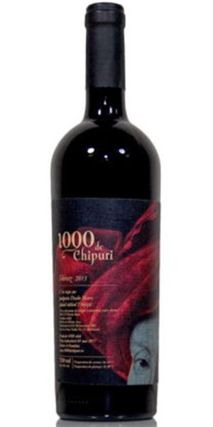 1000 De Chipuri Syrah 2015 0.75L 0