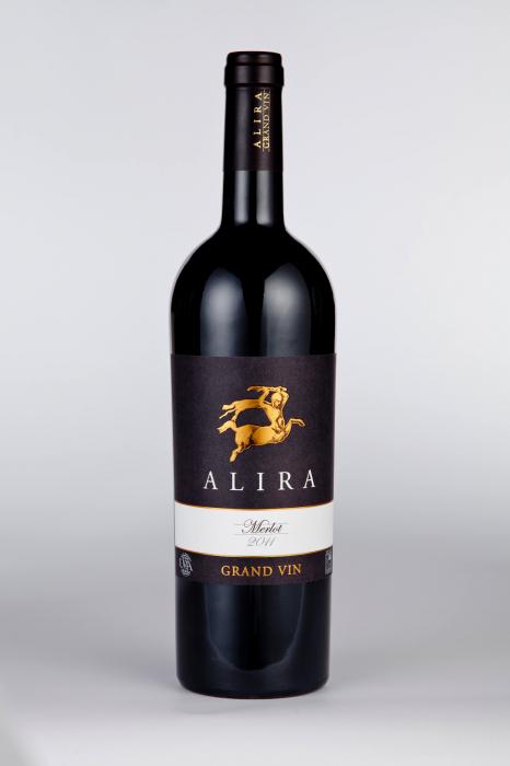 Alira Grand Vin Merlot 0
