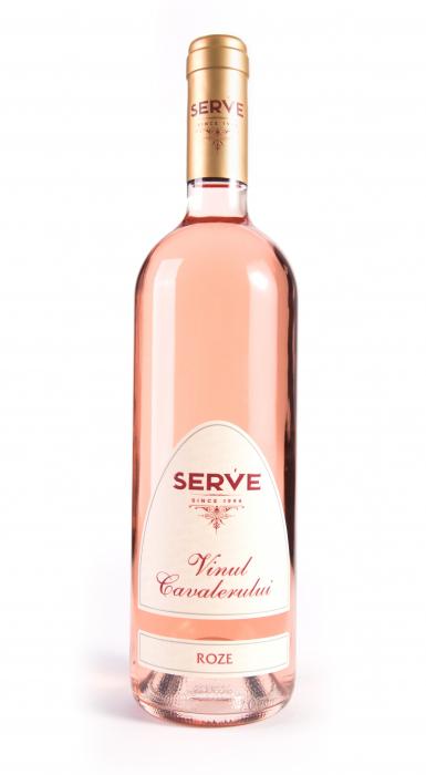 S.E.R.V.E Vinul Cavalerului Rose 0