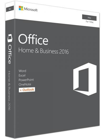 Microsoft Office 2016 Home and Business Mac retail - licenta electronica [0]