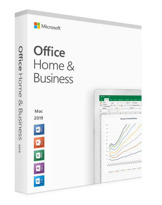 Microsoft Office 2019 Home and Business  retail - licenta electronica Windows [0]