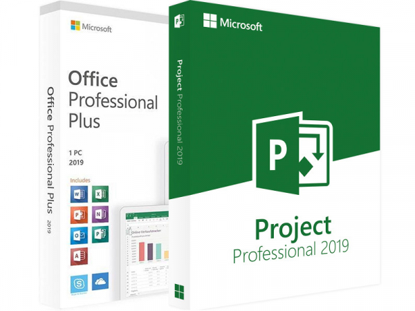 Pachet Office : Office2019Pro + Project Professional 2019 [0]