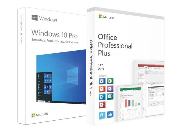 Pachet PRO: Windows 10 Pro + Office 2019 Professional Plus [0]