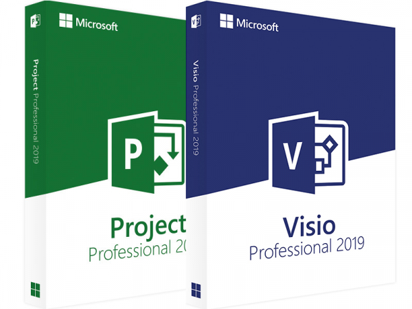 Pachet: Project Professional 2019 + Visio Professional 2019 [0]