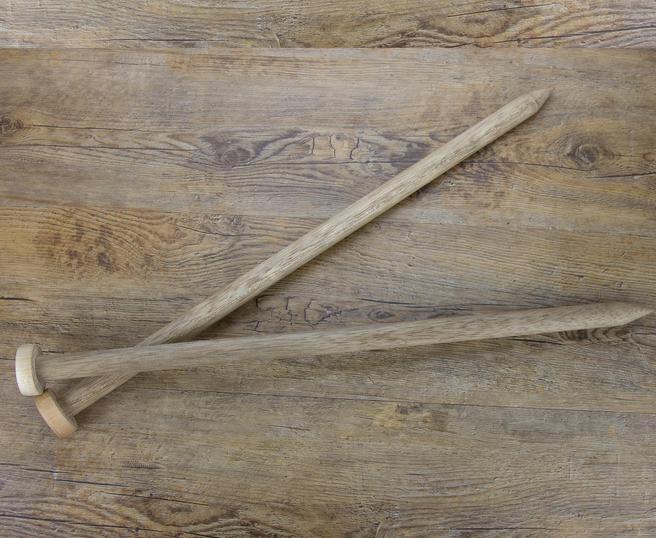 Andrele Giganto handmade din lemn 25 mm 2