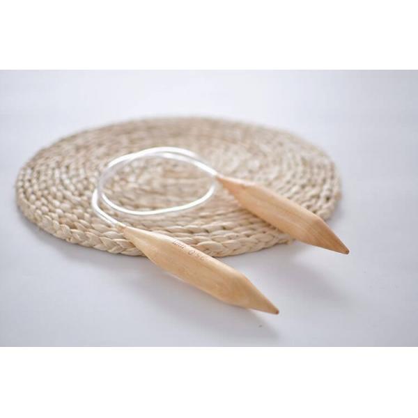 Andrele circulare din lemn 20 mm - pentru ghemuri Chunky [0]