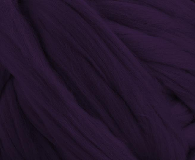 Fir gigant lana merino Aubergine 1