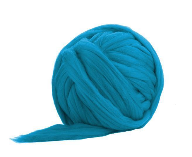 Fir gigant lana merino Cerulean 0