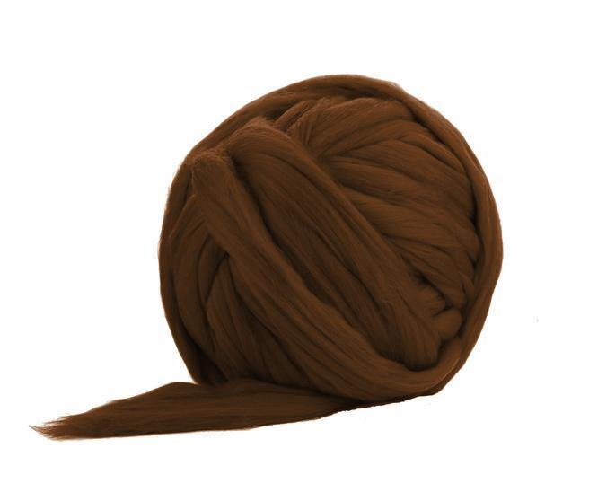 Ghem fir gigant lana Merino Chocolate 2,5 kg 0