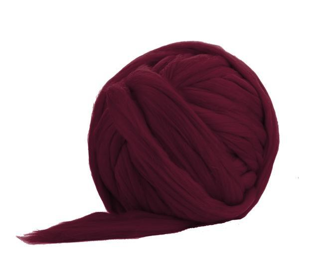Fir gigant lana merino Claret 0