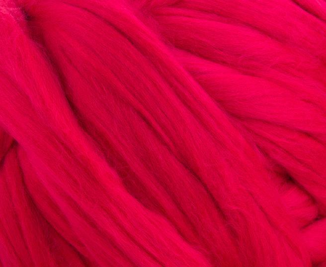 Fire Gigant lana Merino Crimson 1