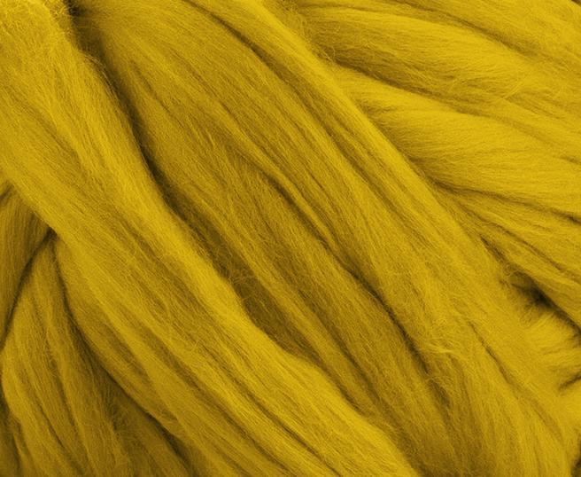Fir gigant lana merino Mustard [1]