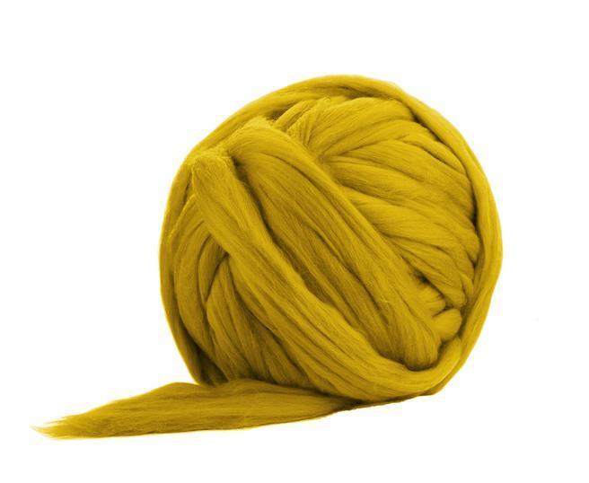 Fir gigant lana merino Mustard [0]