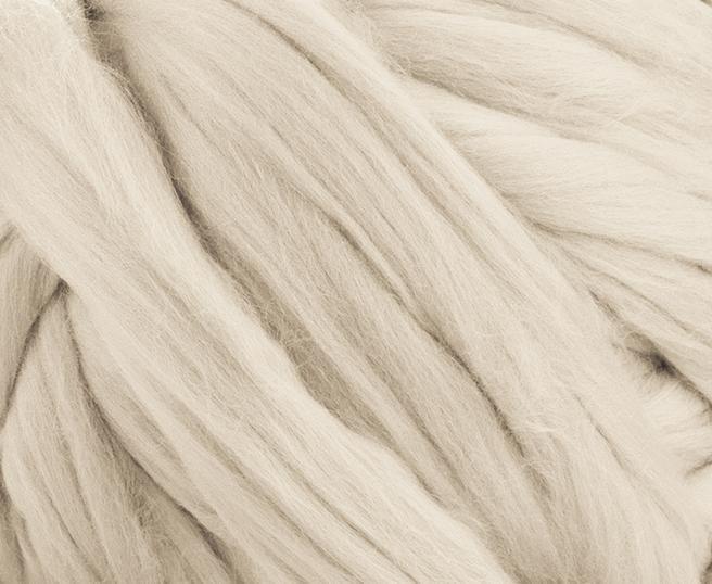 Fir gigant lana merino Oyster 1