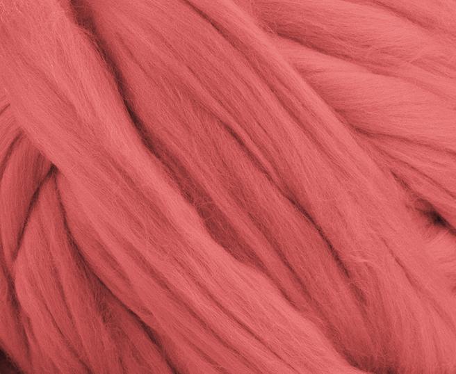 Fir gigant lana merino Salmon 1