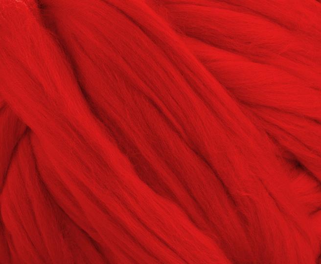 Fir gigant lana merino Scarlet 1