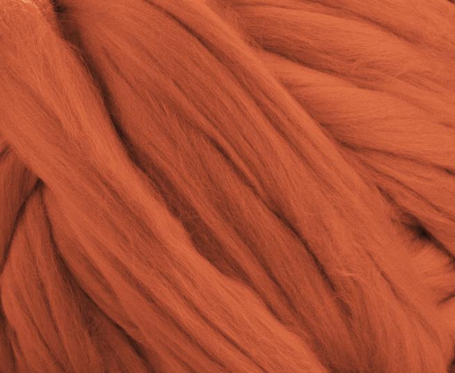 Fir gigant lana merino Terracotta 1