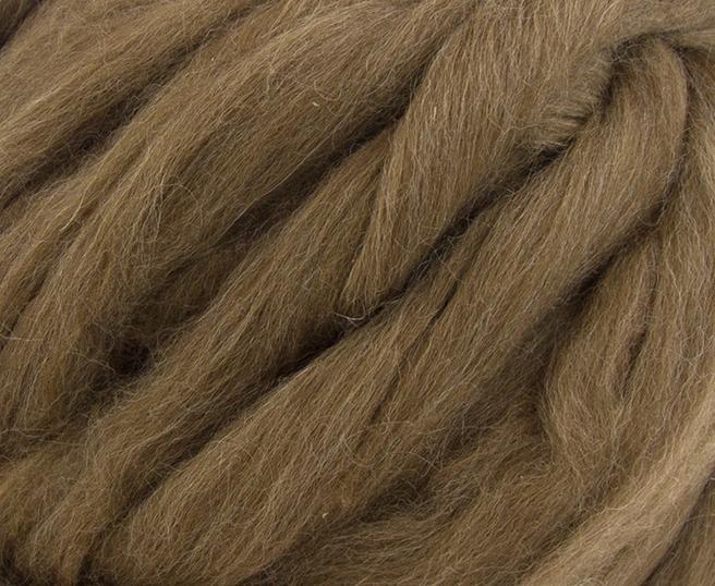 Fir gigant lana shetland Natural Moorit 1