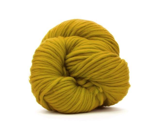 Fire super chunky lana Merino Mustard 0