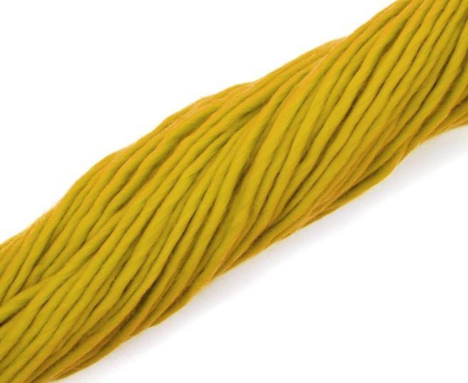 Fire super chunky lana Merino Mustard 2