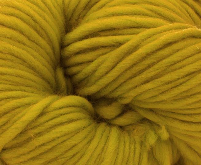 Fire super chunky lana Merino Mustard 1