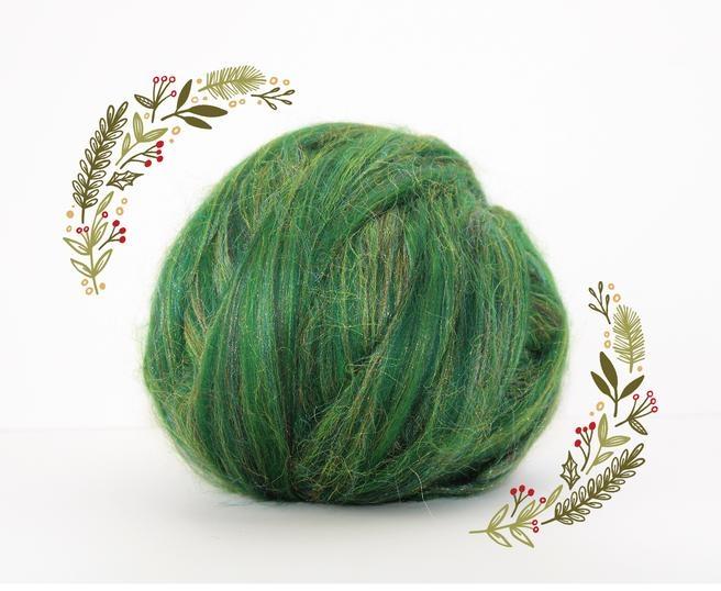 Fir gigant lana merino Christmas Blend Green 0